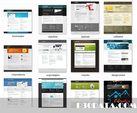 css template Hub colection