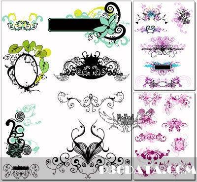 decorative patterns and ornaments Free Download - DownArchive