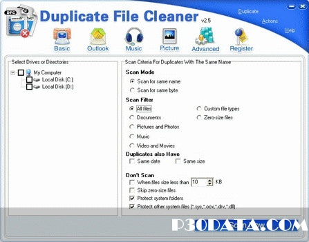 Duplicate File Cleaner