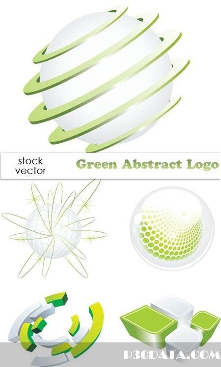 Vectors - Green Abstract Logo