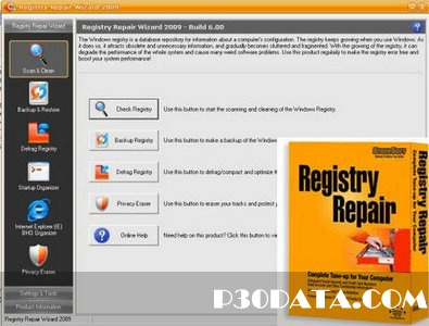 پاک سازی و بهینه سازی رجیستری با Registry Repair Wizard 2012 Build 6.71