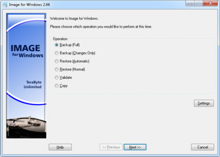 دانلود TeraByte Unlimited Image For Windows 2.80 Retail - نرم افزار پشتیبان گیری از اطلاعات