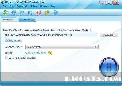 دانلود از یوتیوب با Portable Bigasoft YouTube Downloader v1.2.8.4624