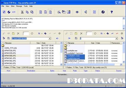 اتصال پرقدرت به پروتکل اف تی پی با Core FTP Pro 2.2.1751