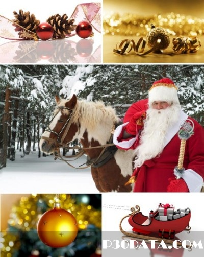 New Year and Christmas Wallpapers Pack 2011