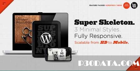 ThemeForest - Super Skeleton Wordpress Theme - 1.5