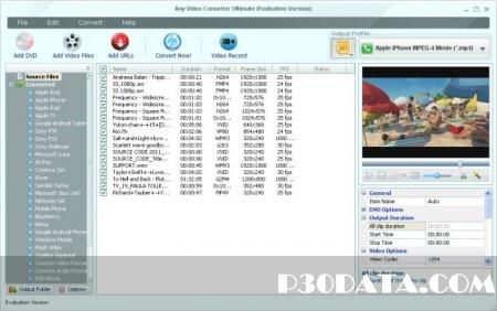 تبدیل فرمت ویدیوها Any Video Converter Ultimate 4.5.8 Multilanguage