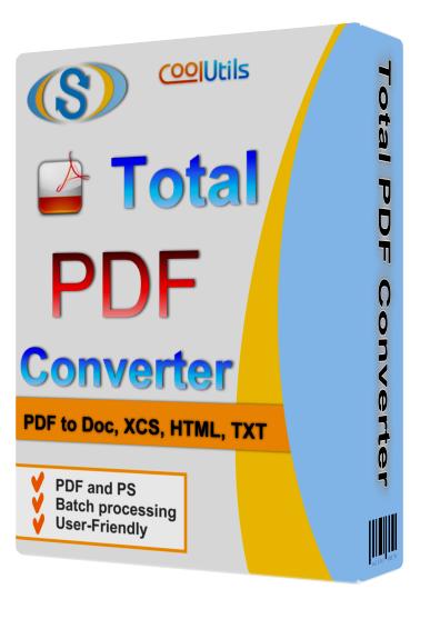 دانلود نرم افزار Coolutils Total PDF Converter  2.1.206
