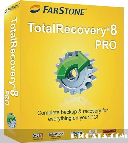 محافظت و ریکاوری فایل ها با FarStone TotalRecovery Pro 8.1 build 20120612