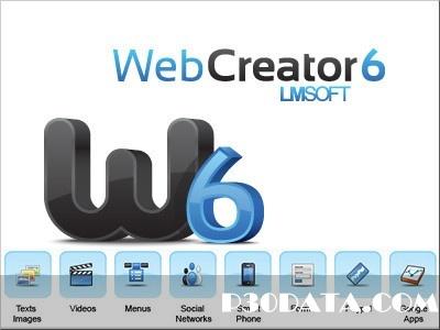 طراحی وبسایت با LMSOFT Web Creator Pro 6.0.0.13