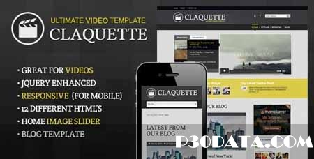 ThemeForest - Doctype Claquette - Responsive Video HTML Template
