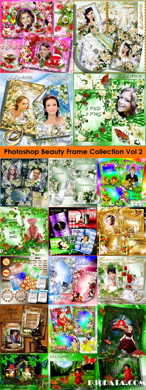 Photoshop Beauty Frame Collection 2011