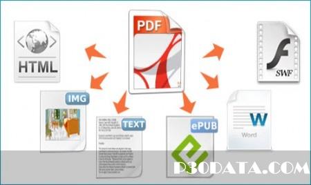 تبدیل فرمت pdf به دیگر فرمت ها PDFMate PDF Converter Professional 1.63