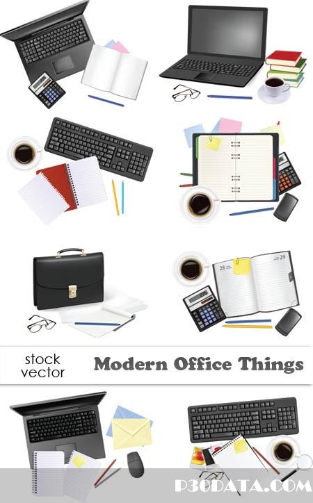 Vectors - Modern Office Things
