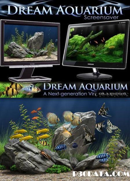 آکواریوم واقعی در سیستم شما به وسیله Dream Aquarium 1.2592 Screensaver