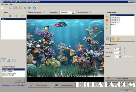 ساخت تصاویر متحرک با Animated Wallpaper Maker 3.1.2