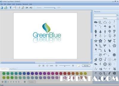 طراحی لوگوهای حرفه ای توسط Sothink Logo Maker Professional 4.3