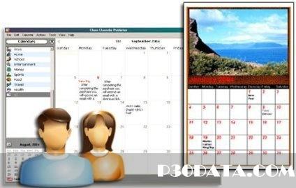 ساخت تقویم های تصویری با Web Calendar Pad 2011.10.12