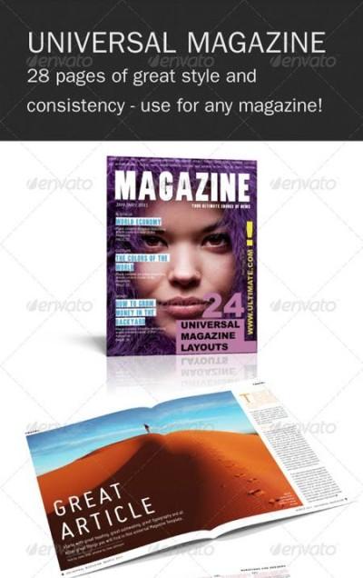 GraphicRiver Universal InDesign Magazine Template