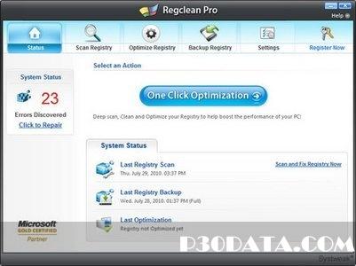 دانلود نرم افزار SysTweak Regclean Pro 6.21.65.2451