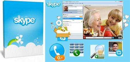 تماس رایگان صوتی و تصویری با سراسر دنیا با  Skype 5.10.0.116 Final