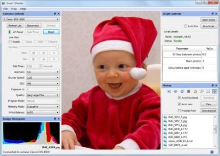 کنترل دوربین های دیجیتال با Hart Codeworks Smart Shooter 2.8