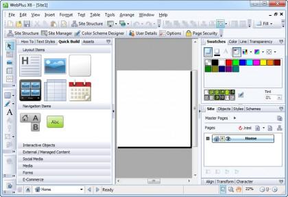 ایجاد حرفه ای صفحات وب با Serif WebPlus X6 ISO-TBE