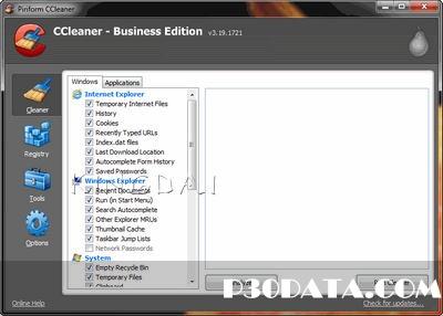 دانلود نرم افزار پاکسازی ویندوز CCleaner All Edition v3.19.1721