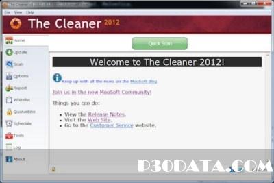 تامین امنیت همه جانبه با The Cleaner 2012 Build 8.1.0.1112