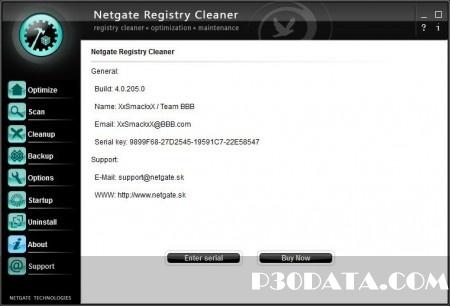 بهینه سازی رجیستری با NETGATE Registry Cleaner 4.0.205.0