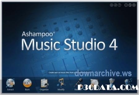 ویرایش فایل های صوتی با Ashampoo Music Studio v4.0.8.23 Datecode