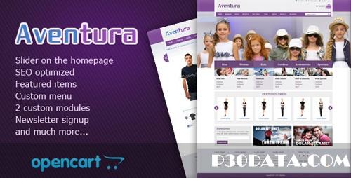 ThemeForest - Aventura eCommerce Theme v1.0 for OpenCart 1.5.1.3