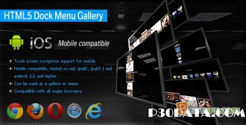 CodeCanyon - HTML5 Dock Menu Gallery - RIP