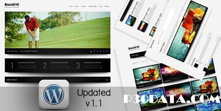 ThemeForest - Black Eve v1.1 Wordpress Theme