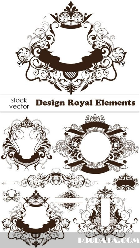 Vectors - Design Royal Elements