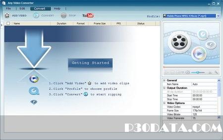 تبدیل فایل های ویدویی به انواع فرمت ها با Any Video Converter Professional 3.3.5 Multilanguage