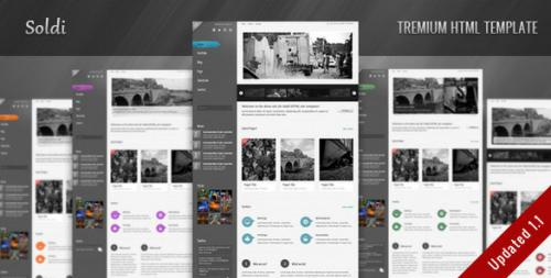 ThemeForest Soldi - HTML Site Template