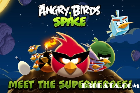 Angry Birds Space v1.0.0 | IPHONE,IPAD,IPOD GAME