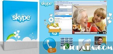 ارتباط رایگان صوتی و تصویری با Skype 5.10.0.114 Final