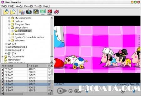 مشاهده فایل های فلش به صورت حرفه ای توسط Flash Player Pro 5.2 Final